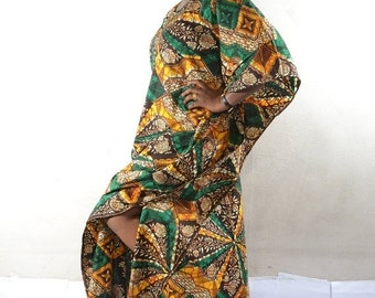 Clearance - African Print Dira Dress