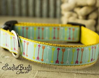 Arrow dog collar - Tribal, Aztec