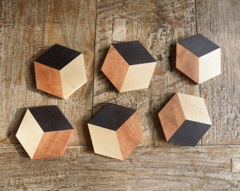 Wenge Coasters (price is for 1 set of 2 coasters)