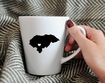 Honduras Mug.  Adoption, Travel, Mission, Custom