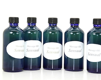 "Massage oil ""Sensual"""