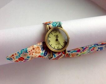 Liberty Print Cotton Lawn Wrist Watch