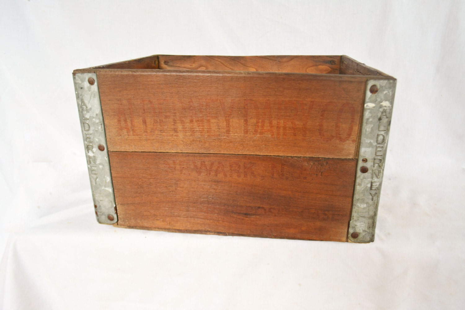 vintage wooden milk crate alderney milk crate by. Black Bedroom Furniture Sets. Home Design Ideas