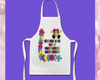 Personalised Autism Awareness - Adults & Children sizes - Style 5