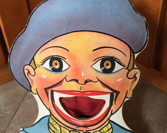 Antique Carnival Midway Clown Todd Toy, Freak Show