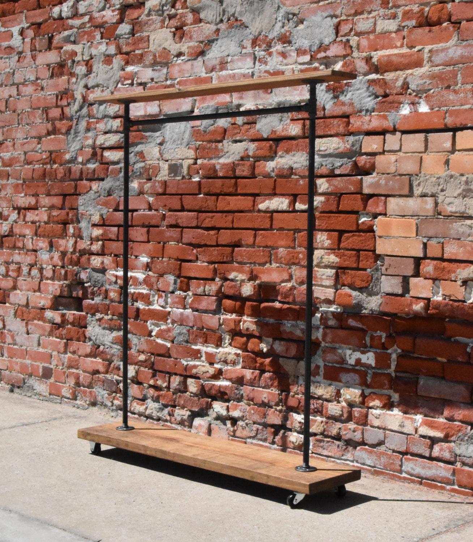 fer industriel urbain plomberie tuyau v tement casier avec. Black Bedroom Furniture Sets. Home Design Ideas