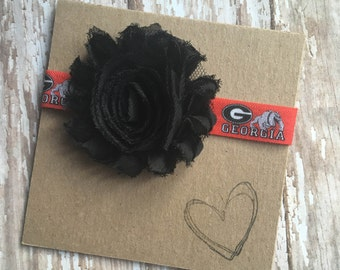University of Georgia, Bulldogs Headband, Hairy Dawg, Uga, Baby Headband