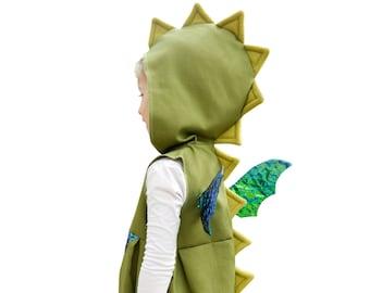 Fancy dress, dragon, carnival, costume, children, christmas, birthday, sizes 86 - 116