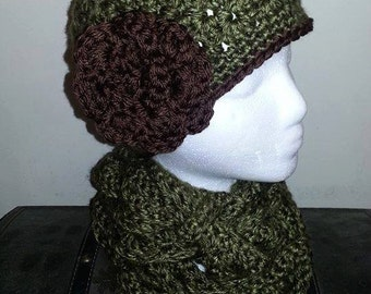 Bulky Beanie Crochet Hat