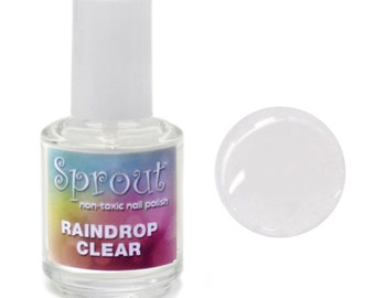 Sprout Non Toxic Raindrop Clear Single Polish