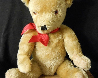 Antique Teddy Bear From England, Growler