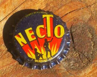 Vintage 60s Necto Bottlecap Magnet