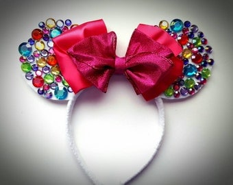 Celebrate the Magic inspired  Minnie Mouse Ears