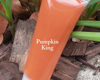 NEW! PUMPKIN KING- Part of the new Fall 2015 Collection- Thick and Rich, Vegan Lipgloss and Lipstick All in One