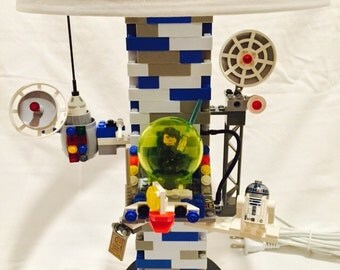 LEGO® Lamp - Star Wars R2D2 Theme