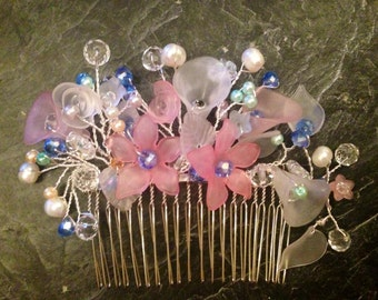 bridesmaid hair comb