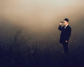 "Postcard photography art ""Baba Tatiya II"""
