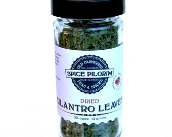 Dried Cilantro Leaves