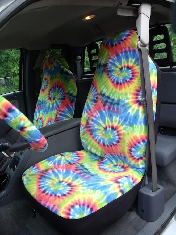 Tye Dye Car Seat Covers - Velcromag