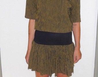 Studded 90s grunge dress