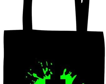 Space Invader Ship 1 Splat Bag