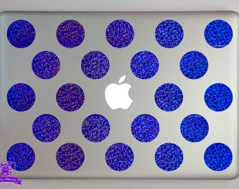 Polka Dot Macbook Laptop Decal