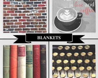 Throw Blanket, Blanket, Soft Blanket, Photo Blanket, Queen Blanket, Couch Blanket, King Blanket, Twin Blanket, Fleece Blanket, Gift, Sherpa