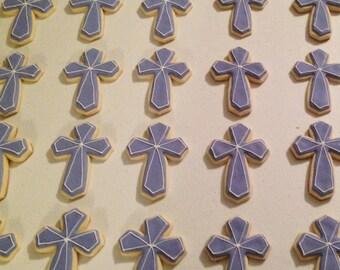 Cross / Baptism / Confirmation Sugar Cookies