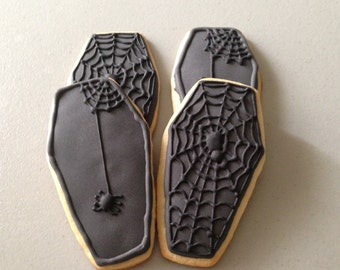 Coffin Sugar Cookies