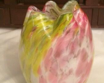 Legras Spatter Vase made in France 1890