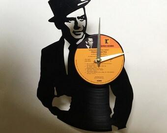 Frank Sinatra Record Clock
