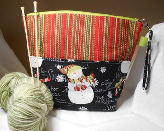 Hooray For Snow Project Bag
