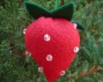 Ornament - Strawberry