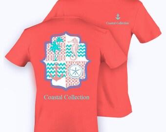 "Coastal Collection ""Seahorse Sand Dollar"" T-Shirt"