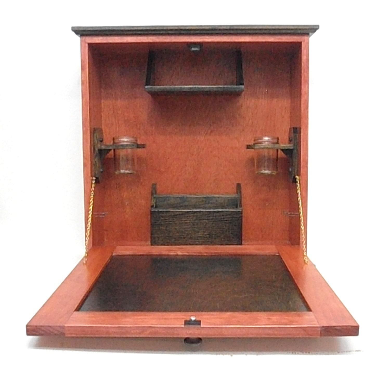 wall mounted desk laptop work station. Black Bedroom Furniture Sets. Home Design Ideas
