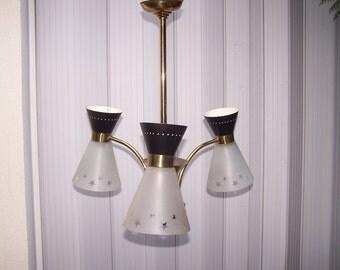 CHANDELIER lamp LUNEL - DIABOLO - design 50