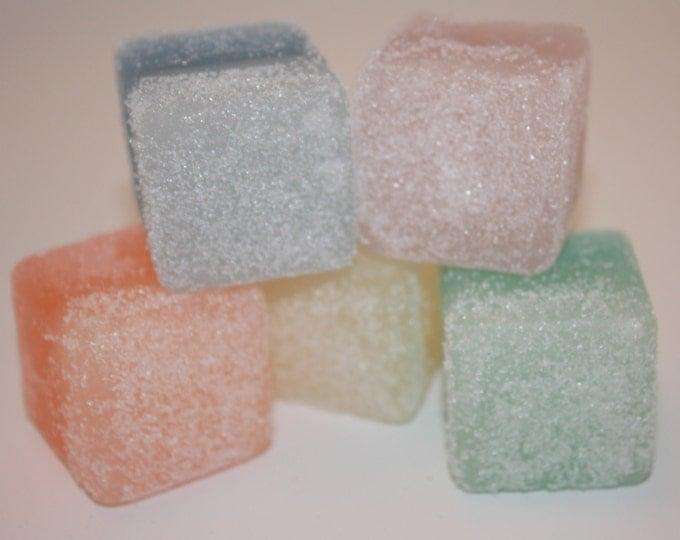 Organic Sugar Scrub Cubes