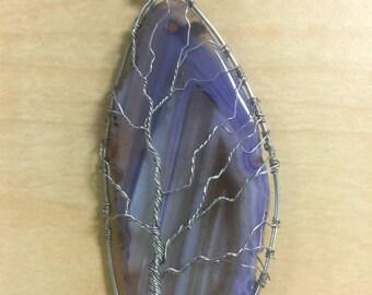 Tree of Life Purple Geode