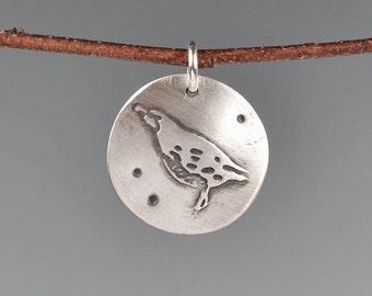 Quail totem-talisman-charm-amulet