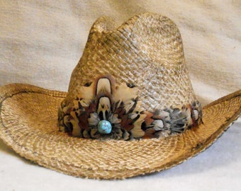 Pheasant Feather Crest Hat Band