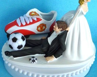 funny wedding cake toppers soccer wedding cake topper budweiser bud mug cans 14606