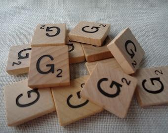 Scrabble Tile Letter G