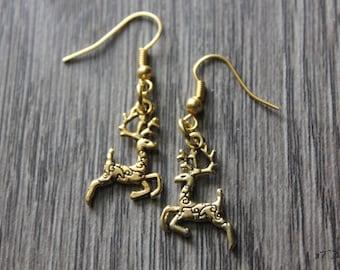 Deer Earring