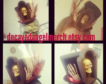 Little voodoo Costume tophat with headband!