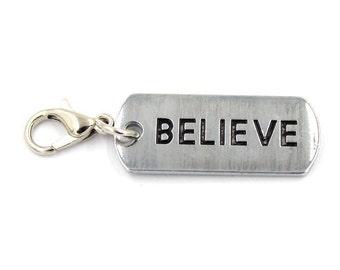 Believe Charm, Keychain