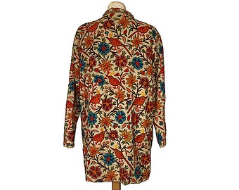 1920s Embroidered Jacket - Crewelwork