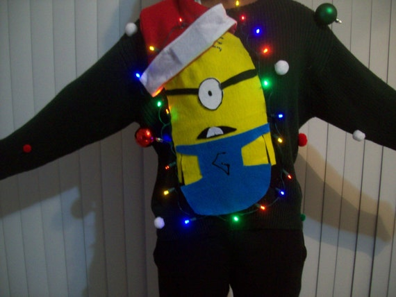 Fun Minions Holiday Sweatshirt