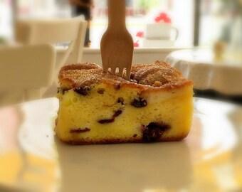 Lemon Blueberry Danish Coffeecake