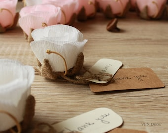 10 rustic wedding place card holders flower name card holder wedding table card holder