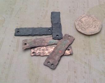 Little Bridges. Copper connectors,dangles.